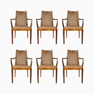 Chaises de Salon Mid-Century en Teck de G-Plan, 1960s, Set de 6