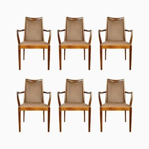 Mid-Century Teak Dining Chairs from G-Plan, 1960s, Set of 6