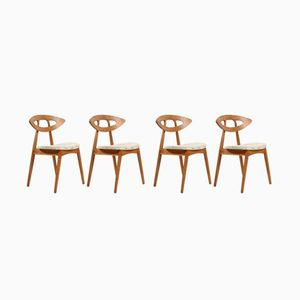 Eye Dining Chairs by Ejvind Johansson for Ivan Gern Mobelfabrik, 1961, Set of 6