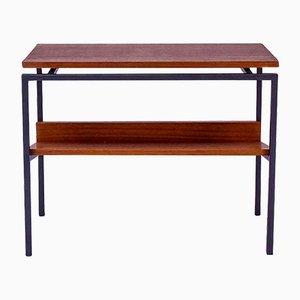 Tavolino con portariviste di Pastoe, anni '50