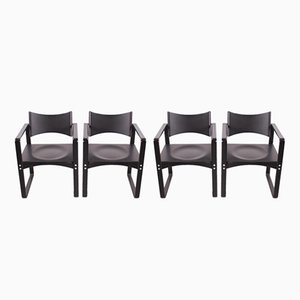 270F Armchairs by Verner Panton for Thonet, 1960s, Set of 4