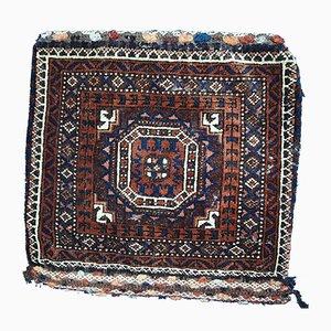 Alfombra Baluch Bag afgana antigua, década de 1900