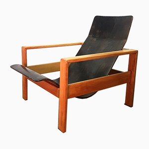 Mid-Century Plywood Lounge Chair, 1960s