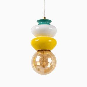 Kleine Lampe in Rosa aus Apilar Serie von Noa Razer