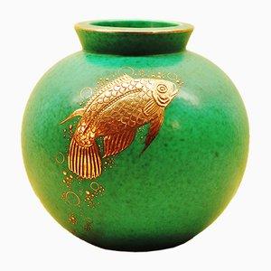 Vase Argenta Vintage par Wilhelm Kåge pour Gustavsberg
