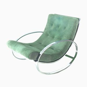 Rocking Armchair by Renato Zevi, 1970s