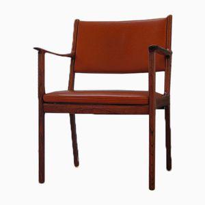 Model 412 Chair by Ole Wanscher for Poul Jeppesens Møbelfabrik, 1960s
