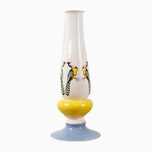 Apilar Vase mit Pfauen-Motiv von Noa Razer