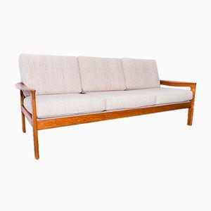 Sofa mit Gestell aus Teak von Arne Wahl Iversen für Komfort, 1960er