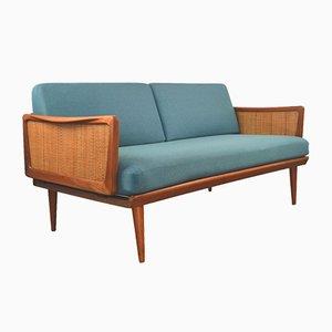 451 Sofa mit Gestell aus Teak von Peter Hvidt & Orla Mølgaard-Nielsen für France & Søn, 1950er