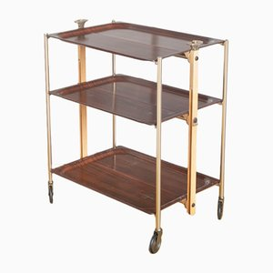 Vintage French Serving Bar Cart, 1970s