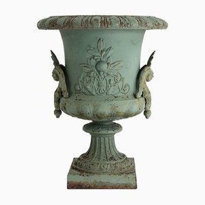 Vintage Swedish Cast Iron Urn