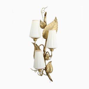 Vintage Rankan Wandlampe aus Messing von Hans Bergström für Ateljé Lyktan