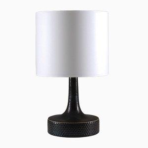 Lámpara de mesa de gres de Stig Lindberg para Gustavsberg, años 50