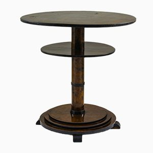 Vintage Swedish Art Deco Side Table, 1930s