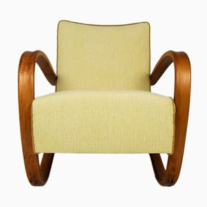 Art Deco H269 Armchair by Jindřich Halabala for UP Závody, 1930s