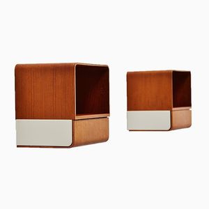 Euroika Nightstands by Friso Kramer for Auping, 1963, Set of 2