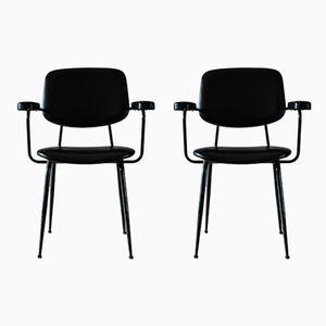 Chaises Modernes, Italie 1950s, Set de 2