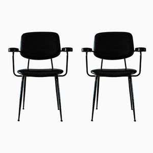 Italian Modern Chairs, 1950s, Set of 2