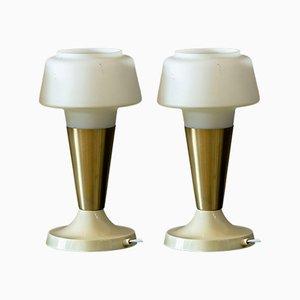 Mid-Century Tischlampen von AKA Electric, 1960er, 2er Set