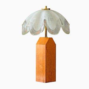 Lámpara de mesa italiana vintage de Carlo Scarpa, años 60