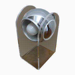 Tischlampe aus Plexiglas, 1970er