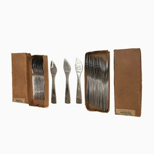 Couteaux et Fourchettes par Gio Ponti pour Fraser Krupp, Italie, 1951, Set de 30