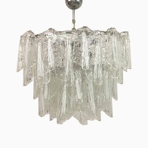 Italian Murano Glass Chandelier, 1960s