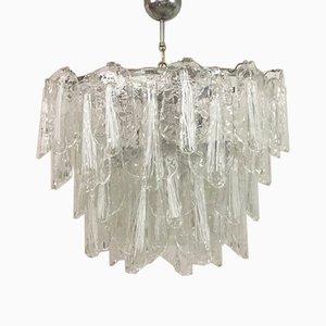 Italian Murano Glass Chandelier, 1960s