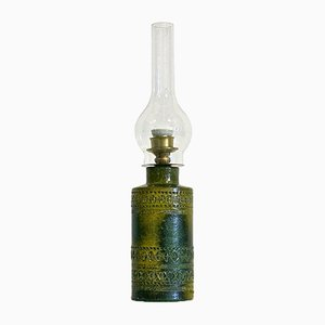 Lámpara de mesa italiana vintage, años 70