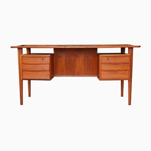 Danish Teak Writing Table by Peter Løvig Nielsen, 1960s