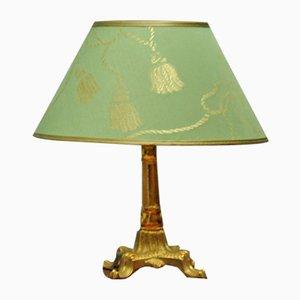 Art Deco Messing Tischlampe