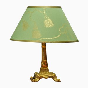Lámpara de mesa Art Déco de latón