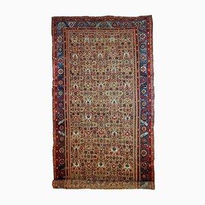 Handgefertigter antiker orientalischer Teppich, 1880er