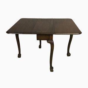 Mesa de centro antigua de caoba