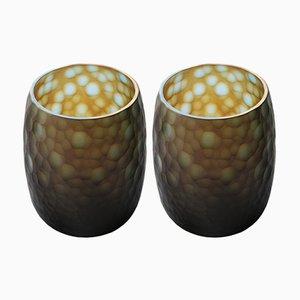 Vases en Verre Murano, 1960s, Set de 2