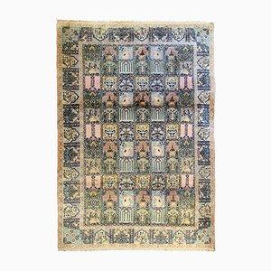 Indischer Vintage Teppich aus Seide, 1950er