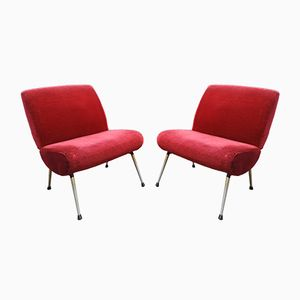 Kiss Armchairs from Pelfran, 1960s, Set of 2