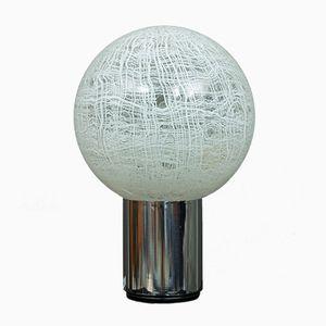 Grande Lampe de Bureau avec Globe en Verre Murano par Angelo Brotto, 1970s