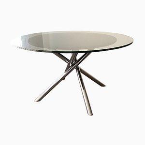 Tavolo da pranzo Nodo di Carlo Bartoli per Tisettanta, anni '70