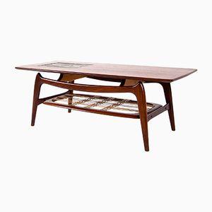 Table Basse Vintage par Louis Van Teeffelen pour WéBé, Pays-Bas
