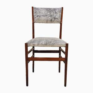 Vintage Stuhl aus hellem Eschenholz von Gio Ponti, 1951