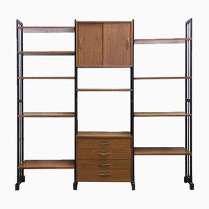 Modulares Mid-Century Bücherregal, 1950er