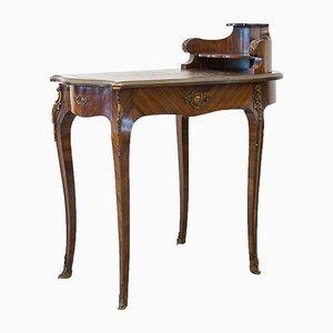 Antiker Schreibtisch aus Palisander, 19. Jh.