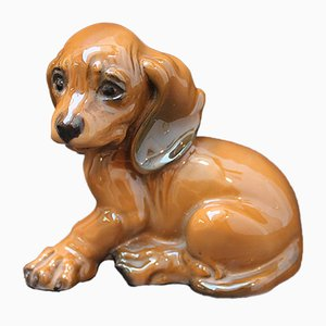 Dachshund Porcelain Figure by Georg Kuspert for Rosenthal, 1950s