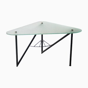 Mid-Century French Triangular Coffee Table, 1950s