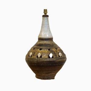 Große Tischlampe aus Keramik von Georges Pelletier, 1960er