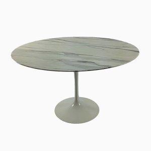 Tavolo da pranzo vintage in marmo di Eero Saarinen per Knoll International