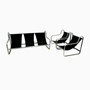 Italienisches Sofa & Sessel, 1970er