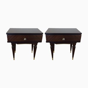 Tables de Chevet Mid-Century, Italie, 1960s, Set de 2